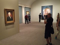 American Portraits Presidents 20170618_140138 (CanadaGood) Tags: usa america dc washington smithsonian nationalportraitgallery art painting photography people person museum artgallery cameraphone 2017 thisdecade canadagood colour color