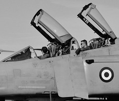 Phantom Riders (Fleet flyer) Tags: royalinternationalairtattoo riat gloucestershire raffairford greekairforce greece hellenicairforce πολεμικήαεροπορία polemikíaeroporía mcdonnelldouglasf4ephantomii mcdonnelldouglasf4e f4ephantomii mcdonnelldouglas phantom spook doubleugly fighter mc donnell douglas