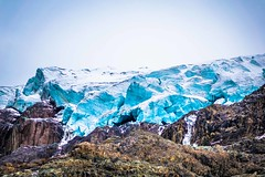 One of the larger glaciers we've seen in the Peruvian Andes near Pastoruri.