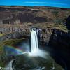 Over the Rainbow (azcangal) Tags: rainbow falls waterfall washington palouse water nature