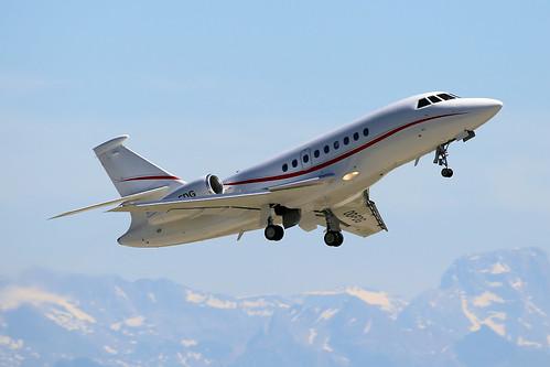 Untitled (Abelag Aviation)  Dassault Falcon 2000EX OO-FDG