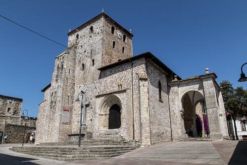 Basílica de Santa María del Conceyu. Llanes.