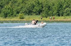 Boat Fun on Veerse Meer (frankwinkler1969) Tags: veerse meer nordsee niederlande kamperland holland sonne boot menschen hund spass