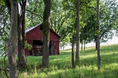 Corn Crib (marylea) Tags: 2017 jul21 walk summer evening rural michigan washtenawcounty farm decay ruraldecay corncrib