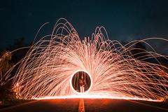 Fire Circule (Cristobal Merino Fotografía) Tags: circule circulo fuego largaexposicion larga exposicion