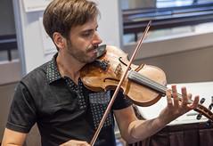 funcrunch-20170813-7796 (funcrunch) Tags: wikimania wikimedia wikipedia conference violinplayer violinist montréal québec canada ca