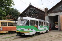 2017-06-30, Odesa, Depo 3 (Fototak) Tags: tram strassenbahn tatra t3 odesa ukraine 4037