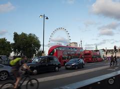 Totally London.. London Eye, London Tourbus, London Redbus, London Taxi, London Cyclist, maybe its because i'm a Londoner... (Davos Pessos) Tags: â©dpp london londonmetropolis redbus streetphotography thamesriver watercourse costacoffee waterfountain fidgetspinner parliamentsquare whitelion londonunderground jayz icecream snog frozenyogurt smoothie blackcab londoneye riverferry riverbarge londonbridge southwark westminsterbridge housesofparliament skateboarding bigben art streetfood foodstall streetperformer