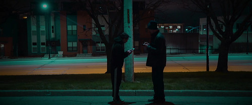 """Kim Scarfe and Justin Norman in """"Brodown"""""""