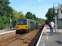 143620 Topsham [Explored] (Marky7890) Tags: gwr 143620 class143 pacer 2f39 topsham railway devon avocetline train