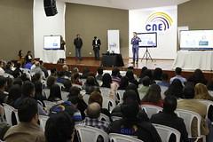 REUNIÓN SOBRE FORTALECIMIENTO INSTITUCIONAL CON SERVIDORAS Y SERVIDORES ELECTORALES