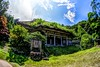 Old Temple (tez-guitar) Tags: temple architect hdr sky green summer pentax pentaxart sigma fisheye noto ishikawa japan