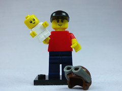 Brick Yourself Custom Lego Figure New Dad