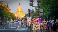 2017.08.13 Charlottesville Candlelight Vigil, Washington, DC USA 8094