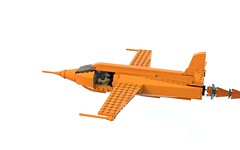 Solo_Bell_X-1_Mk.1_v3.lxf (Arbitrator327) Tags: lego legoideas aircraft airplane chuck yeager bell x1 xplane glamorous glennis scale