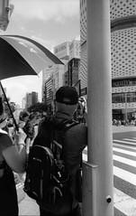 重記録・2 (meta-record 2) (Dinasty_Oomae) Tags: leicaiiia leica3a leica ライカiiia ライカ3a ライカ 白黒写真 白黒 monochrome blackandwhite blackwhite bw outdoor 東京都 東京 tokyo street 中央区 chuoku 銀座 ginza カメラ camera 歩行者天国 pedestrian'sparadise