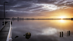 Applecross Sunrise (JChipchase) Tags: applecross perth nikon d750 sunrise river jetty