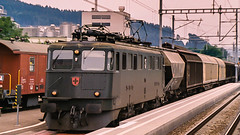 SBB Ae 6'6 11504 Zofingen August 2001 (BaggieWeave) Tags: switzerland swiss swissrailways swisstrains sbb cff ffs ae66