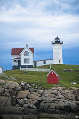 Nubble Lighthouse, Cape Neddick ME (Andrea // AT Graphics!) Tags: usa america travel traveling travels fujifilm xe1 fuji xmount lens colors summer murica unitedstates northeast northeastern newengland boston massachusetts bostonia maine rhodeisland newhampshire north