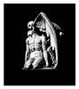 El Petó de la Mort / The Kiss of Death / El Beso de la Muerte (Aviones Plateados) Tags: canon eos550d rebel t2i kissx4 poblenou barcelona blancoynegro blancinegre blackandwhite death kiss petó mort cementerio cemetery cementiri jaumebarba llaudet joanfontbernat artemibarba sculpture escultura muerte