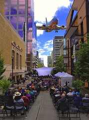Concert On Main Street (swong95765) Tags: concert performance city mainstreet jet crowd audience orchestra