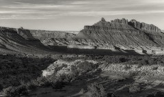 the old dragon... (Alvin Harp) Tags: blackdragon sanrafaelswell march 2016 i70 greenriver utah sonyilce7rm2 fe24240mm monochrome blackandwhite bwlandscape bw alvinharp