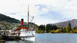 TSS Earnslaw. Queenstown NZ