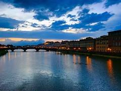 Rainy Florence (travelontheside) Tags: italy italia tuscany toscana florence florenceitaly firenze arno arnoriver