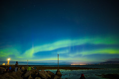 Northern Lights - Iceland (Cristiano Secci) Tags: red northern lights northernlights aurora borealis sky stars blue green purple solar storm astronomy reykjavik