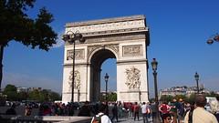 Arc De Triomphe (Ross Major) Tags: arc de triomphe paris france olympus europe