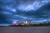 Incoming night at Santa Monica Pier (chrisstotesbery) Tags: anikah california disney disneystudios disneyland drew family hollywood losangeles northhollywood sharina stotesbery summer
