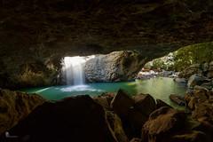 Natural Bridge, inside the cave (pbaddz) Tags: springbrooknationalpark cave australia waterfall rainforest naturalbridge water glowworm rocks queensland