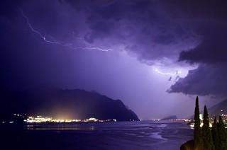 Storm over Lake Garda