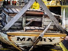 Key West Street Scenes: Mary Boat Wreck (Ed Rosack) Tags: boat usa ©edrosack street thekeys keywest florida