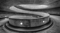 Helix (laga2001) Tags: rot circle helix spiral parking carpark black white contrast monochrome building city urban concrete light structure geometry ramp