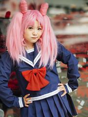 I Found Candy. (Nattawot Juttiwattananon (NJ)) Tags: candy harajukugirl cosplay sailormoon portrait anirevo animerevolution2017 vancouverconventioncentre