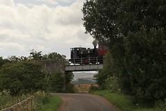 2017-07-30; 011. Barclay No 1863, 'Wee Barclay' (build 1926, Anglo-Scottish Sugar Beet co., Cupar). Bridge of Dun (Martin Geldermans; treinen, Züge, trains) Tags: caledonianrailway brechin bridgeofdun barclay 040 barclay1863 weebarclay steamlocomotive steamtrain steam stoomtrein stoom stoomlocomotief dampf dampfzüge dampflok