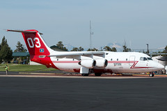 N475NA (sabian404) Tags: n475na neptune aviation services bae 146 rj85 cn e2192 tanker 03 t03 fire roberts filed redmond airport rdm krdm