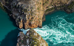 A closer look at just one of the two Horizontal Falls (SarahO44) Tags: 6d aerial aeroplane archipelago australia bay buccaneer canon down falls fast flowing gorge gorges horizontal isolated kimberley landscape looking mclarty natural phenomenon plane range rapid region remote shot talbot turquoise view water waterfalls western kimbolton westernaustralia au