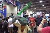 LEGO Yoda (splinky9000) Tags: fan expo toronto canada lego booth star wars master yoda lightsaber statue