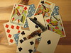 Highlanders (CapCase) Tags: knife pocketknife cutlery cards playingcards ace aceofspades queenofhearts highlanders case texasjack jack jackknife