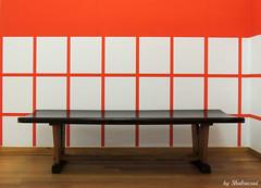 - (Shahrazad26) Tags: gemeentemuseum bankje bench museum musée denhaag sgravenhage thehague lahaye zuidholland nederland holland paysbas thenetherlands