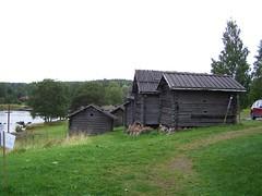 Kyrkstall vid Rättviks kyrka (tompa2) Tags: rättvik dalarna sverige sweden kyrkstall sjö siljan byggnad
