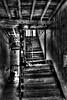 Poverty Trap (B&W Version) (Bernai Velarde-Light Seeker) Tags: panama places rotting stairs stairway old fallingapart panamacity bernai velarde escaleras escalera ciudad sanfelipe podrido urbanexploration urban urbano pobreza poverty