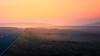 Pink (Steve Meadows Photography) Tags: pink sky pinksky sunset sun orange road mist hills dew haze hazy stevemeadowsphotography dusk mountains grass moor mann isleofman absolutelystunningscapes