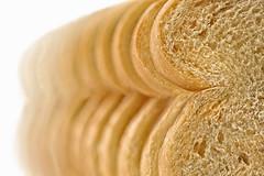 Bread - Plain and Simple (lfeng1014) Tags: bread macromondays macro macrophotography ditalianooriginal closeup bokeh dof depthoffield canon5dmarkiii 100mmf28lmacroisusm lifeng slices hmm pov