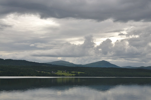 Wolken boven Stora Blåsjön