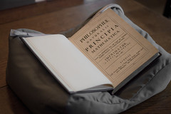 A piece of History (Aresio) Tags: isaacnewton principiamathematica book ancient history physics mathematics chetamslibrary manchester uk