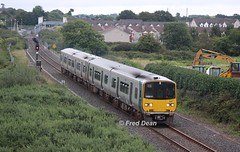 Irish Rail 2805/06 + 2612/11 at Knockgriffin. (Fred Dean Jnr) Tags: irishrail iarnrodeireann 2805 2606 2612 2611 midleton cork august2017cork