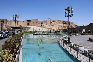Park in front of the Citadel, Erbil / Iraqi Kurdistan
